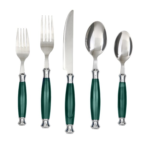 Cambridge 20-Piece 18/10 Stainless Steel Flatware Set by Cambridge Silversmiths