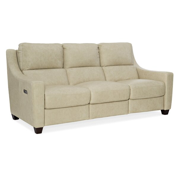 Monti Power Leather Reclining Sofa By Hooker Furniture