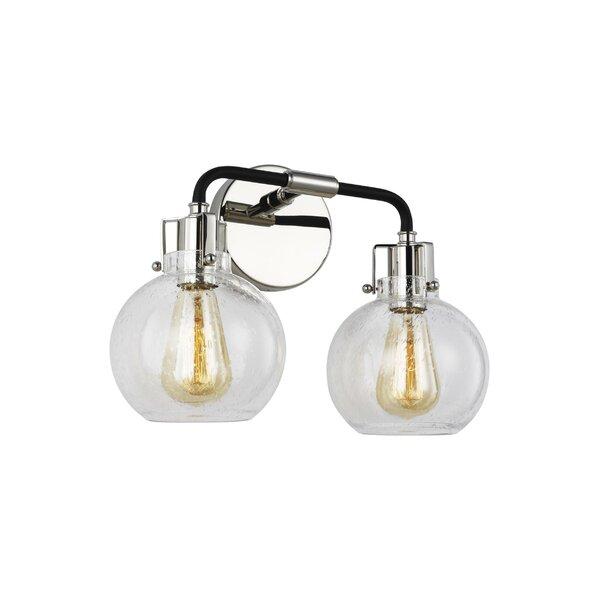 Michelson 2-Light Vanity Light by Wrought Studio