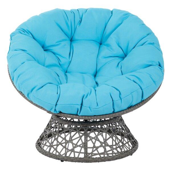 Home & Garden Swivel Papasan Chair