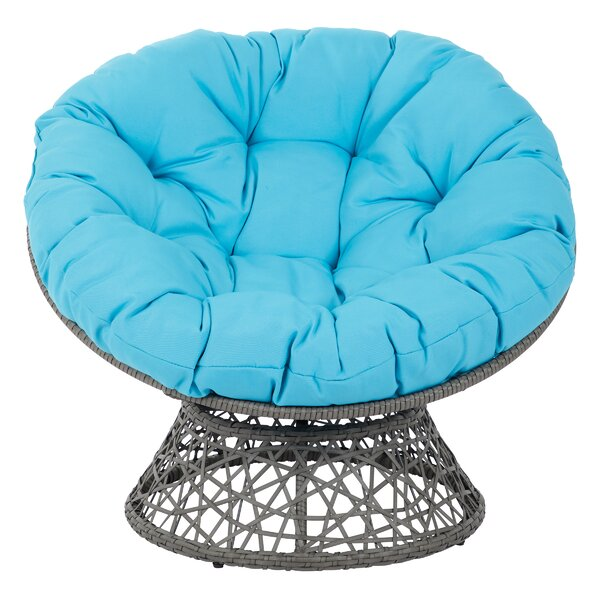 Swivel Papasan Chair By OSP Designs
