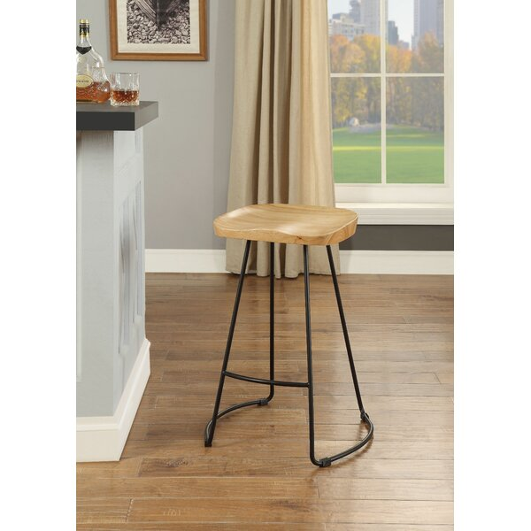 Alleman 24 Bar Stool (Set of 2) by Foundry Select