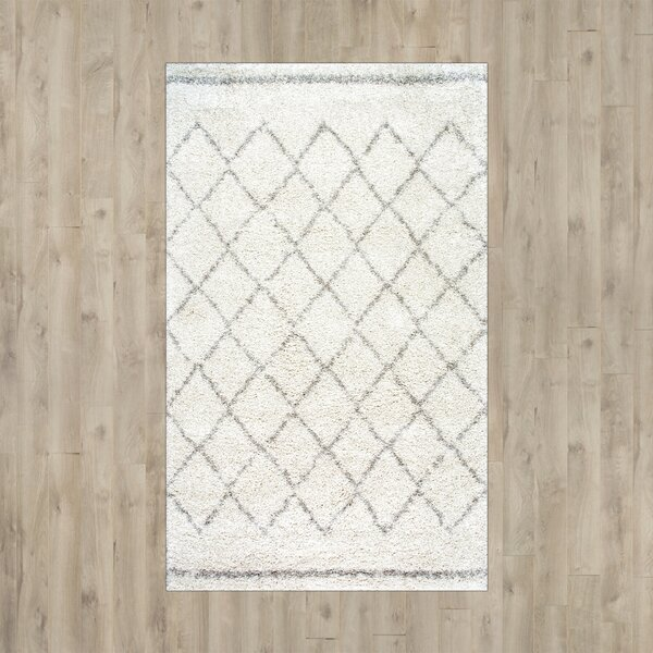 Manus Natural Ivory Area Rug by Mercury Row