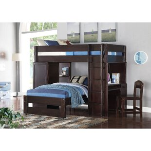 Bargain Ashworth Loft and Twin Bunk Bed ByHarriet Bee