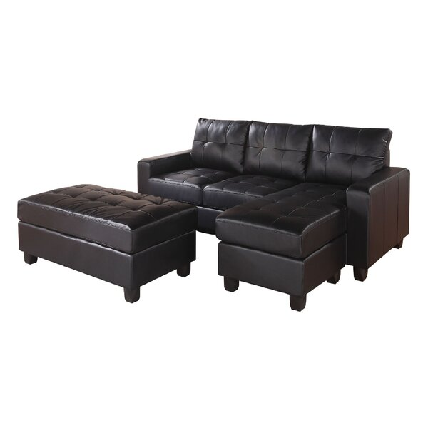 Shoping Baysview Reversible Sectional With Ottoman