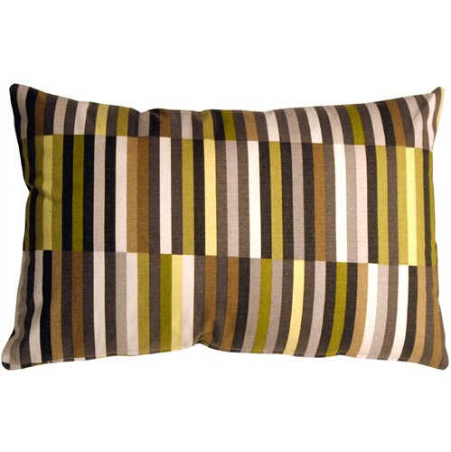 Jamaal Contemporary Side Step Cotton Lumbar Pillow by Corrigan Studio
