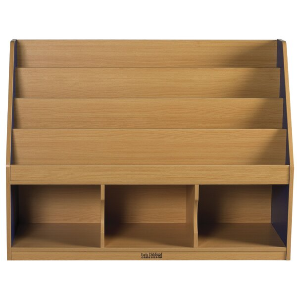 3 Compartment Book Display with Trays by ECR4kids