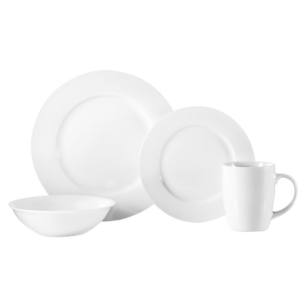 16 Piece Dinnerware Set, Service for 4 by Oneida