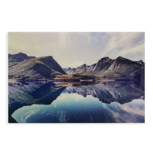 'The Silent Reflection' Photographic Print by Loon Peak