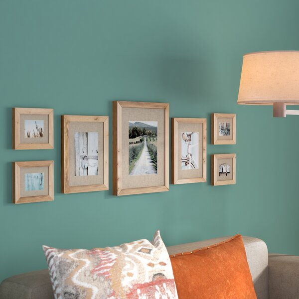 Sharleen 7 Piece Gallery Picture Frame Set by Loon Peak