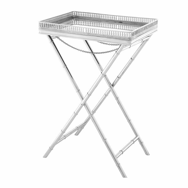 Glass Butler Tray Table