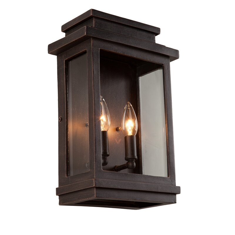 Laurel Foundry Modern Farmhouse Persil 6-Light Outdoor Wall Lantern ... | persil 1-light outdoor wall lantern