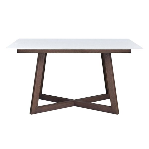 Junie Extendable Solid Wood Dining Table by Orren Ellis