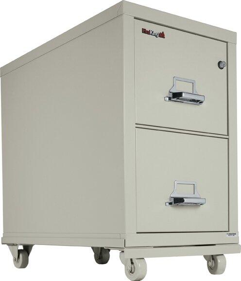Vertical Filing Cabinet Caster Base by FireKing