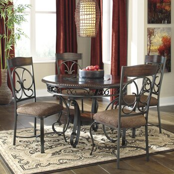 #2 Carrick 5 Piece Dining Set By Winston Porter Savings