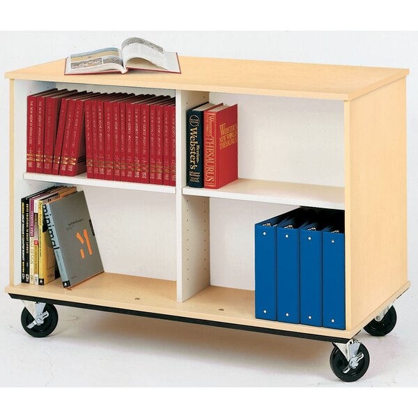 Mobiles Double-Sided Book Cart by Stevens ID Syste