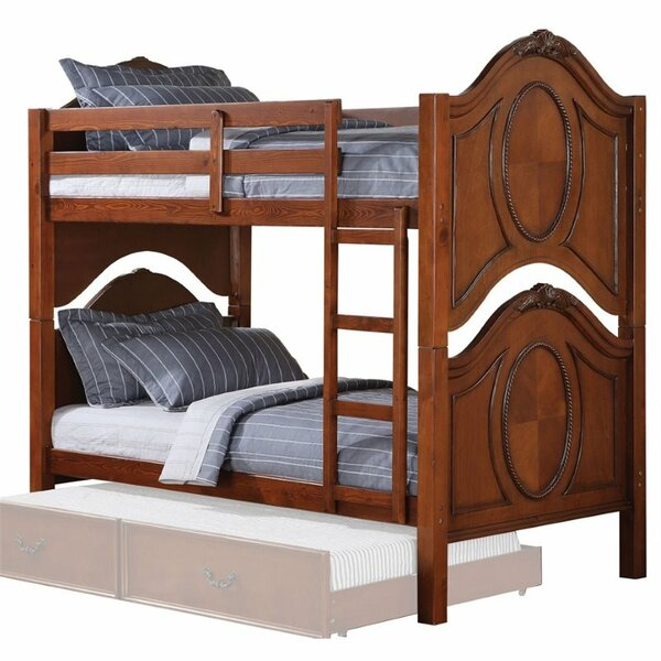 Eaglin Convertible Twin Over Twin Bunk Bed by Harriet Bee