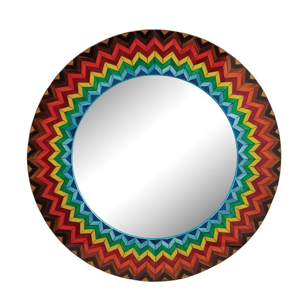 Vibrant Starburst Accent Mirror by Bungalow Rose