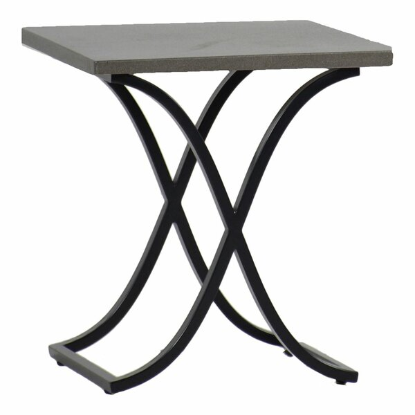 Marco Stone/Concrete Side Table by Summer Classics