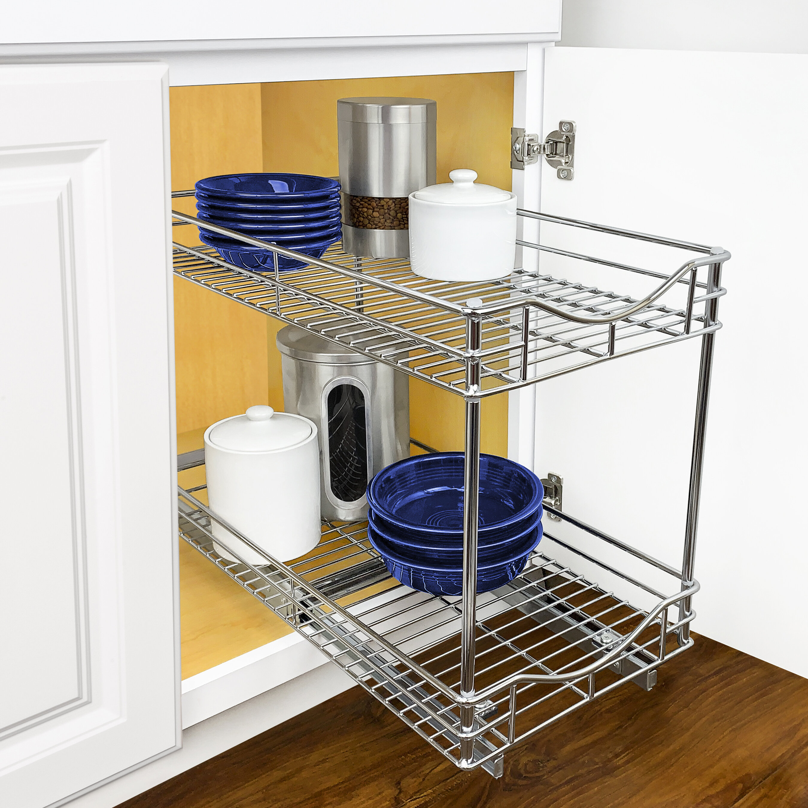 Home Cookware Dining Bar Supplies Pull Two Tier Lynk Professional Slide Out Under Sink Cabinet Organizer Home Furniture Diy Brucebibee Com