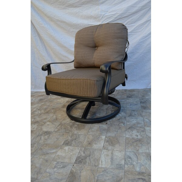 Kristy Swivel Lounge Chair by Darby Home Co