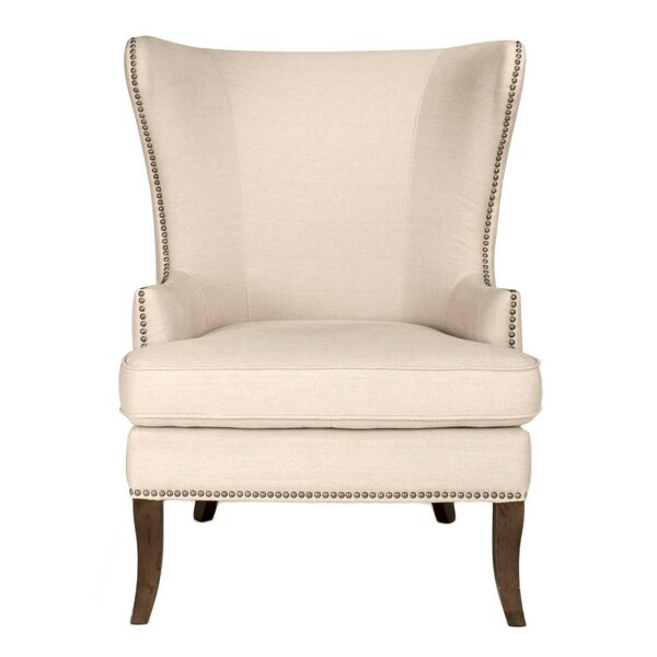 Max Wingback Chair by Gracie Oaks