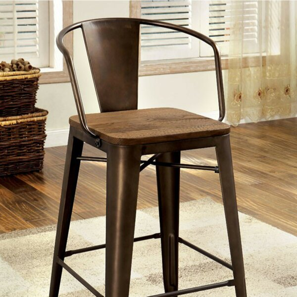 Carlo Solid Wood Dining Chair (Set of 4) by 17 Stories