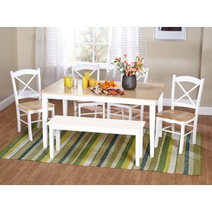 Prudhomme 6 Piece Dining Set by August Grove