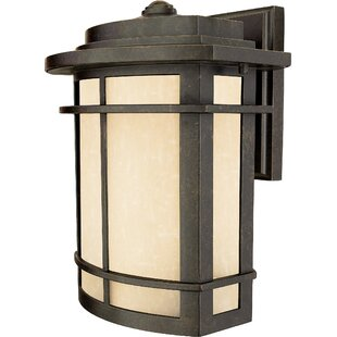 Best Reviews Womack 1-Light Incandescent Outdoor Wall Lantern By Three Posts