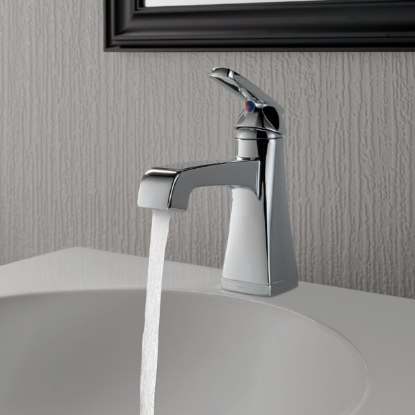 Ashlyn Single hole Bathroom Faucet with Drain Assembly and Diamond Seal Technology by Delta