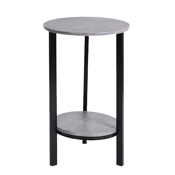 Ameena 3 Legs End Table With Storage By Ebern Designs