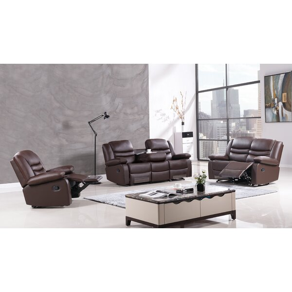Bayfront Reclining 3 Piece Living Room Set by American Eagle International Trading Inc.