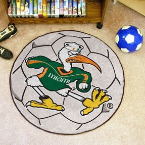 NCAA University of Miami Soccer Ball by FANMATS