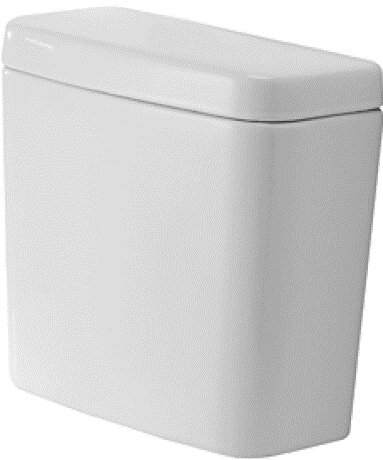 D-Code 1.28 GPF (Water Efficient) Toilet Tank (Seat Not Included) by Duravit