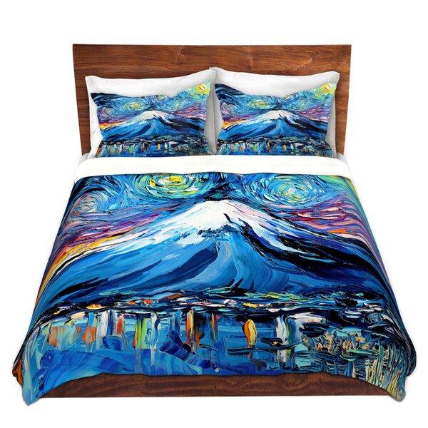 Never Saw Mount Fuji Duvet Cover Set