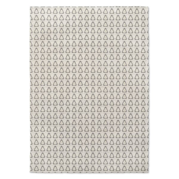 Huerta Gray/Yellow Area Rug by Union Rustic