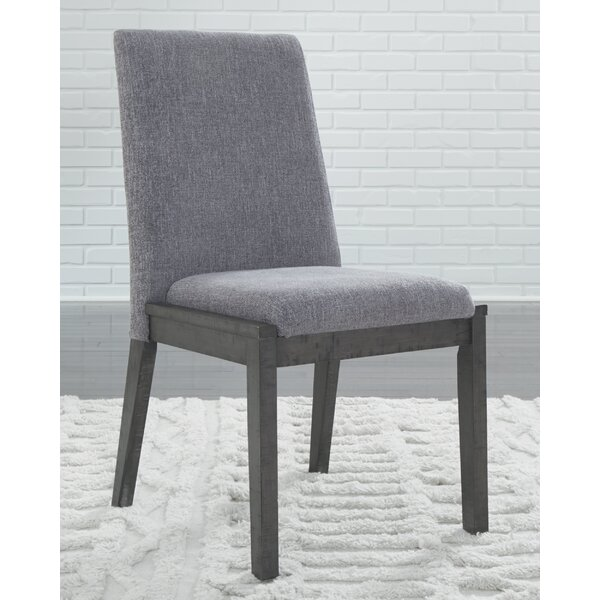 Banach Upholstered Dining Chair (Set of 2) by Foundry Select