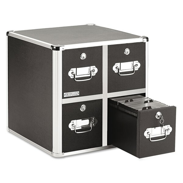 CD File Cabinets Multimedia Library Style Media Drawers By Rebrilliant