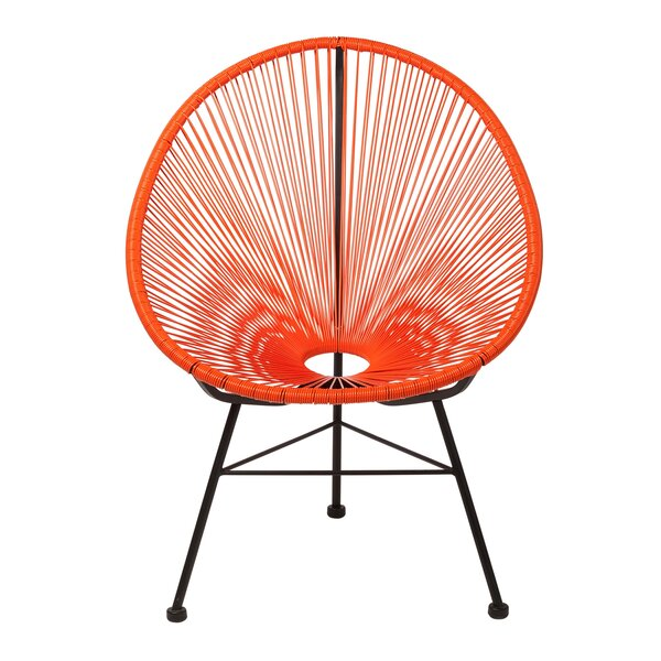 Masten Patio Chair by Bungalow Rose Bungalow Rose