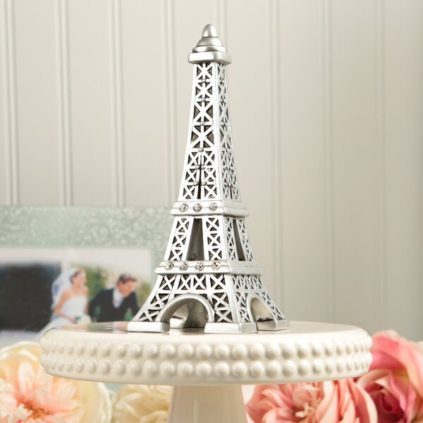 Eiffel Tower Centerpiece and Cake Topper by Fashion Craft