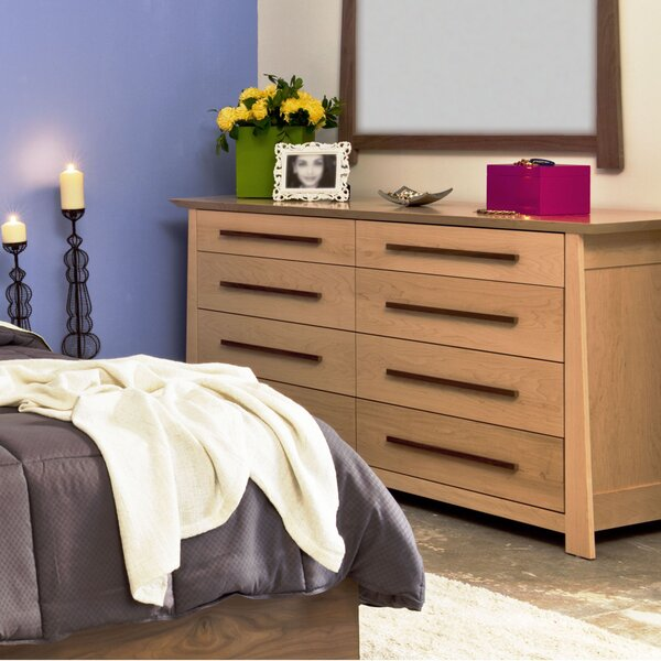 8 Drawer Double Dresser by Ebern Designs