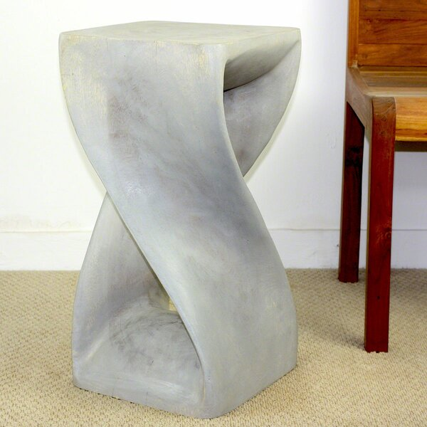Demar Twist End Table by World Menagerie