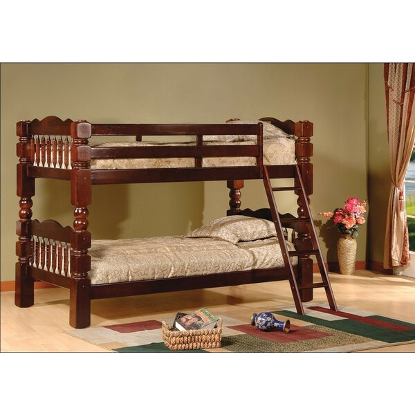 Trystan Twin over Twin Bunk Bed by Harriet Bee