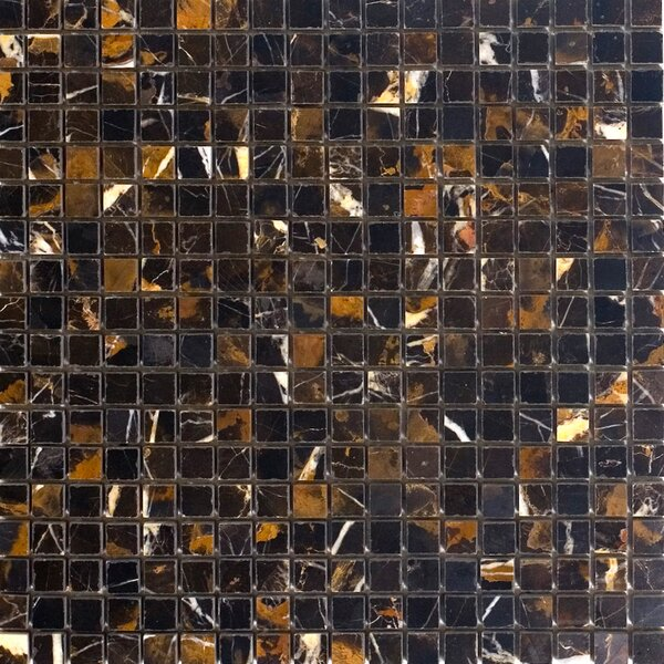 0.63 x 0.63 Marble Mosaic Tile in Michaelangelo by Epoch Architectural Surfaces