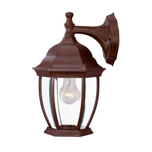 Drumkeeran 1-Light Outdoor Wall Lantern By Astoria Grand Outdoor Lighting