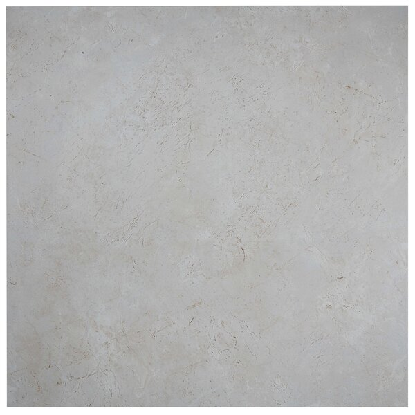 Florentine 24 x 24 Porcelain Field Tile in Argento