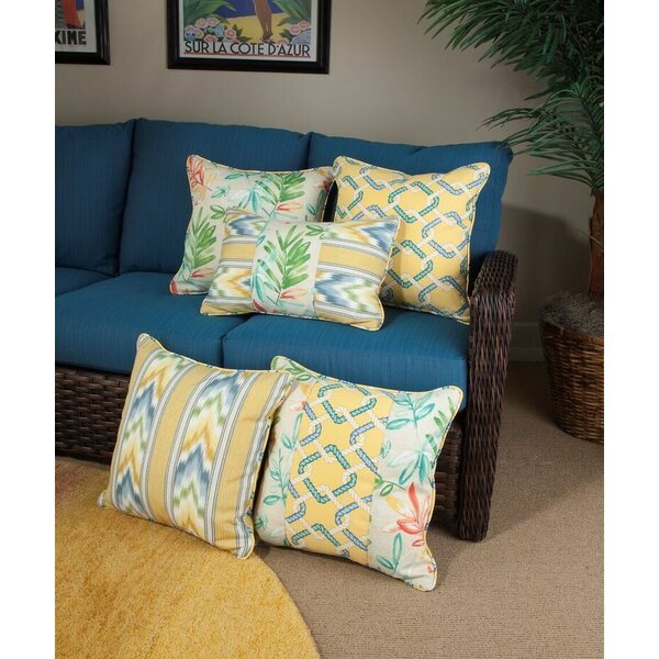 St. Marks Place Opal Indoor/Outdoor Throw Pillow