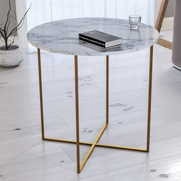 Deana End Table by Everly Quinn