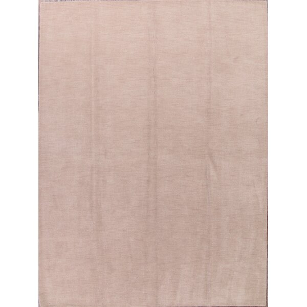 One-of-a-Kind Seidman Oriental Hand-Knotted Wool Beige/Ivory Area Rug by Bloomsbury Market