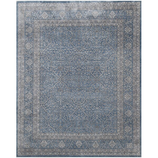 Richmond Hand-Knotted Blue Area Rug by Exquisite Rugs